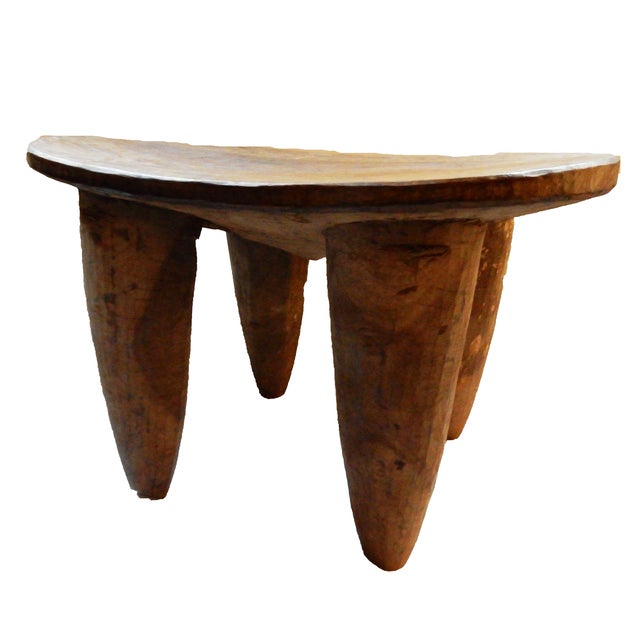 African Senufo Wood Stool - Image 6 of 6