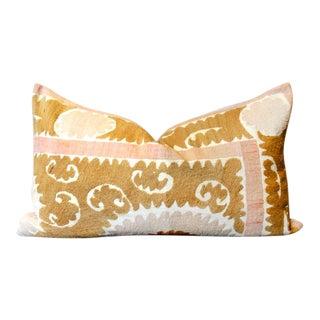 Jafri Suzani Lumbar Pillow For Sale