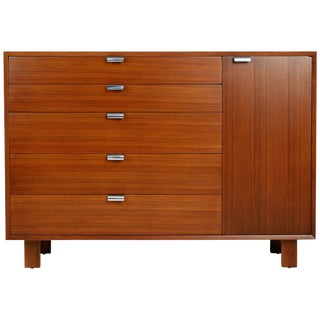 1950s Vintage George Nelson for Herman Miller Dresser Cabinet, Signed For Sale