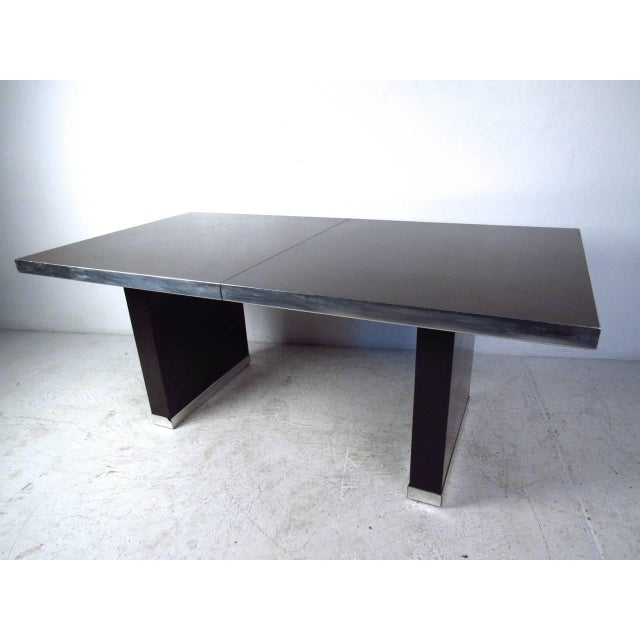 Pierre Cardin Modern Dining Table by Pierre Cardin For Sale - Image 4 of 11