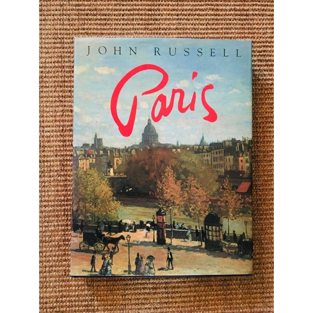 Paris by John Russell a New York Times critic and published by Harry N Abrams. This unique royal blue and gold foiled...