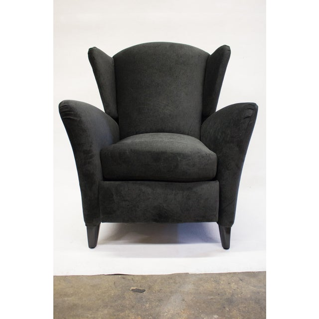 Mid-Century Reclining Wingback Chair - Image 6 of 8
