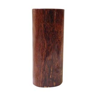 Chinese Yellow Rosewood Log Pillow