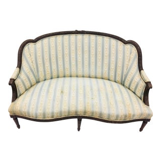 Antique French Settee For Sale