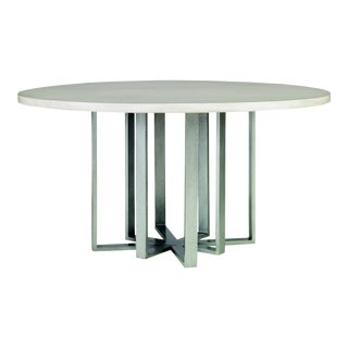 Century Furniture Fripp Round Dining Table, Peninsula For Sale