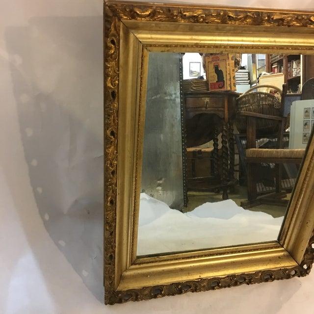 Carved Gold Framed Mirror - Image 3 of 8