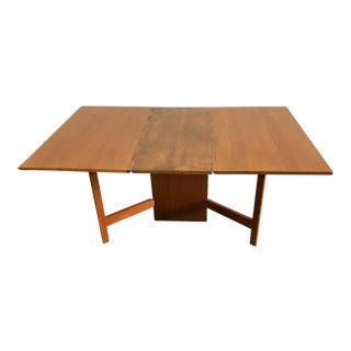 Mid-Century Modern George Nelson for Herman Miller Gate Leg Drop Leaf Dining Table For Sale