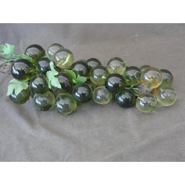Mid-Century Green Lucite Grapes - Image 5 of 6
