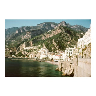 1960s Vintage Italy Amalfi Coast III Photograph Print For Sale