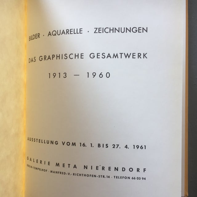 Modern Otto DIX German Expressionist Book For Sale - Image 3 of 6