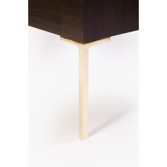 Astor Nightstands in Contrasting Ebony & Ivory by Montage - Pair - Image 7 of 11