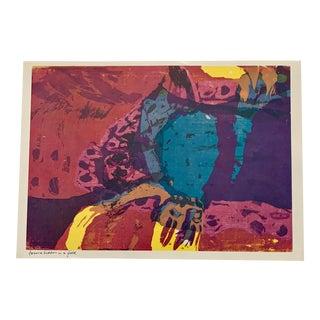 "1960s Sister Mary Corita Kent Pop Art Modernist ""Treasure Hidden in a Field"" Print For Sale"