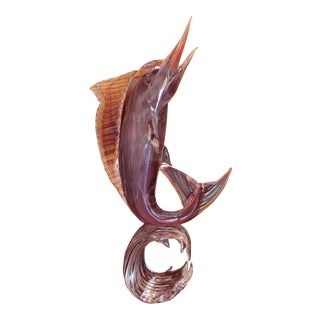 Murano Glass Marlin by Zanetti For Sale