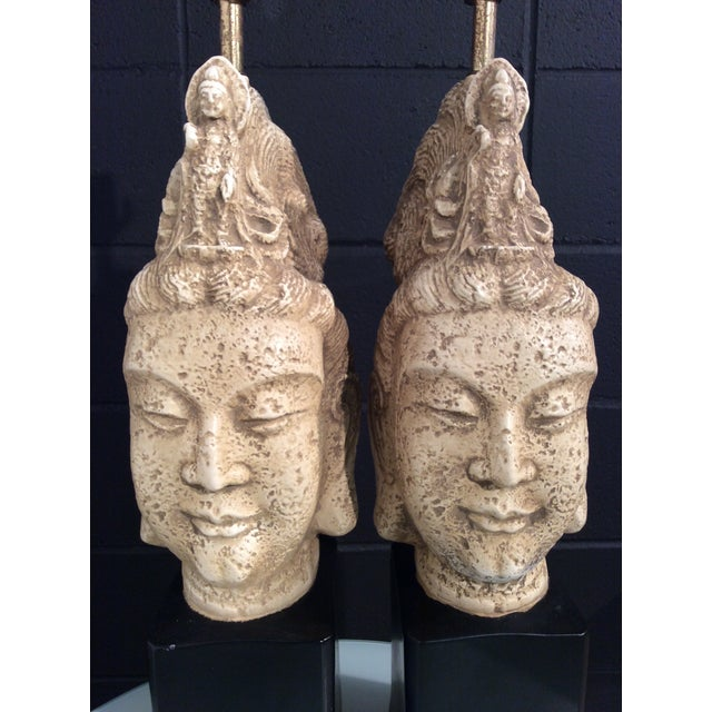 James Mont Buddha Lamps - A Pair - Image 6 of 11