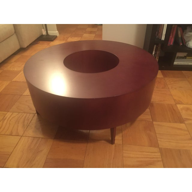 Red Round Coffee Table - Image 5 of 10