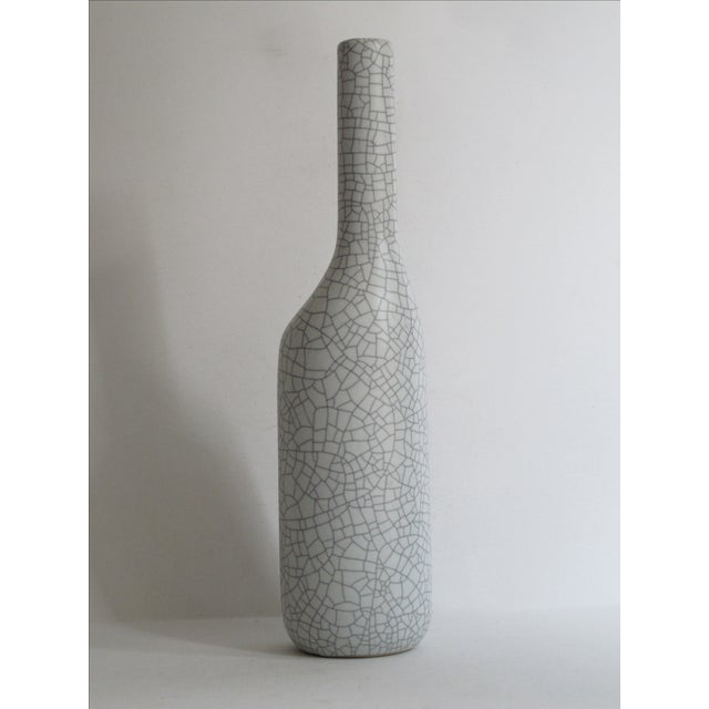 Asymmetrical Crackle Vase - Image 4 of 7