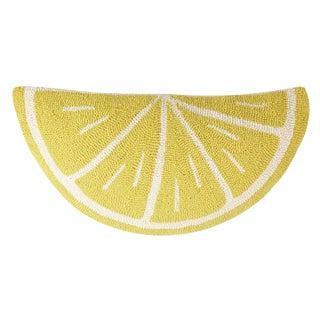 Lemon Wedge Shaped Hook Pillow For Sale