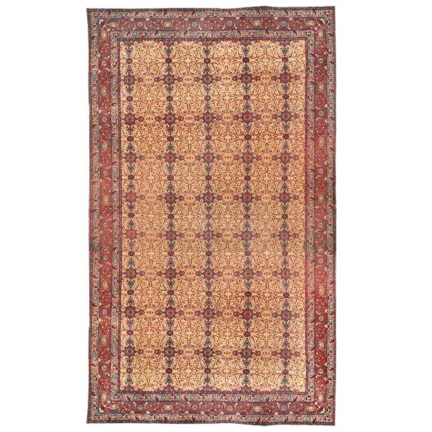 Antique 19th Century Indian Carpet For Sale