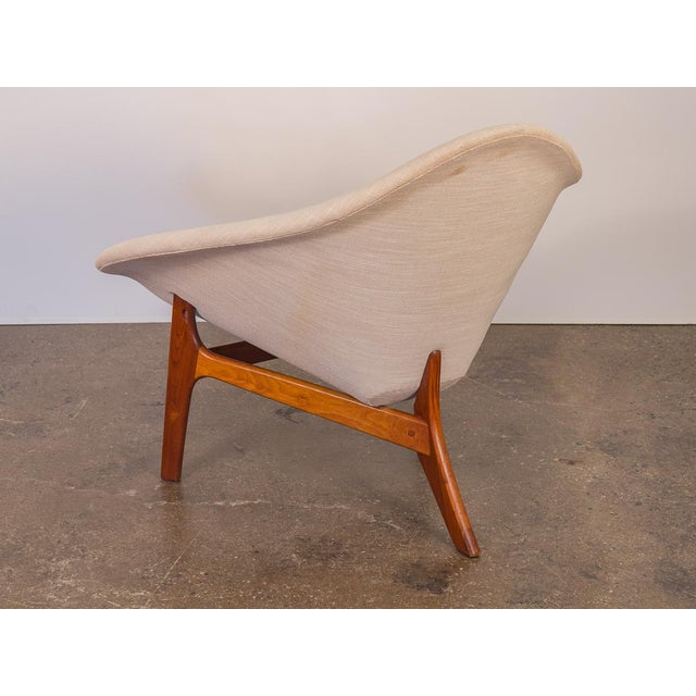 1960s Rare Adrian Pearsall Coconut Chair For Sale - Image 5 of 10