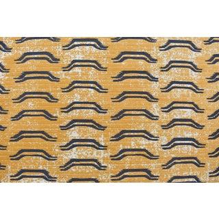 Virginia Kraft Bagha Fabric Sample, Natural For Sale