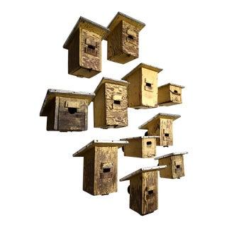 Mid Century Bird House Set