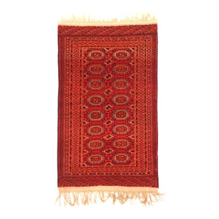 1960s Persian Area Rug Turkish Design For Sale