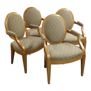 Donghia Grand Soleil Chairs - Set of 4 For Sale