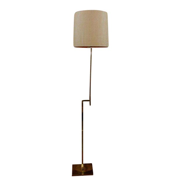 Modernist Adjustable Floor Lamp by Laurel For Sale