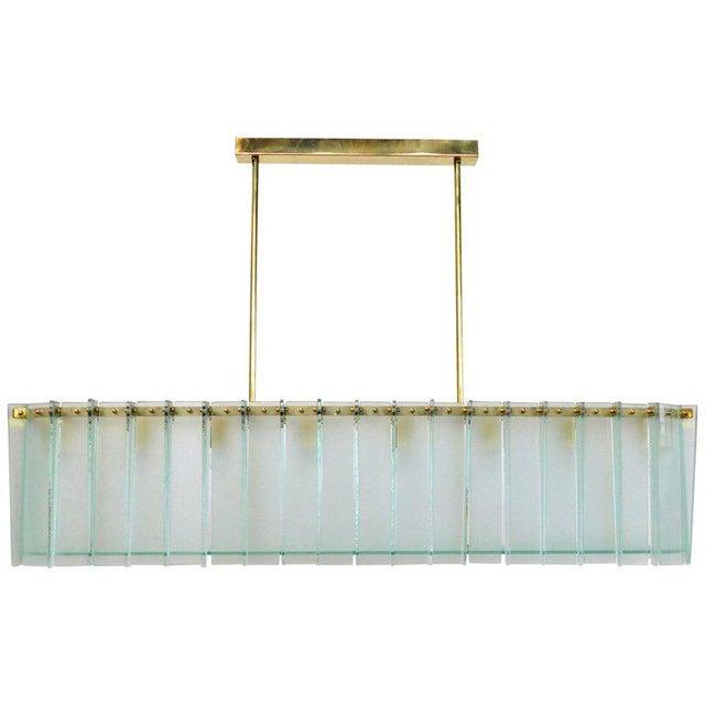 Italian Arco Chandelier by Fabio Ltd For Sale - Image 3 of 11
