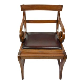 Regency Style English Metamorphic Library Step Chair For Sale