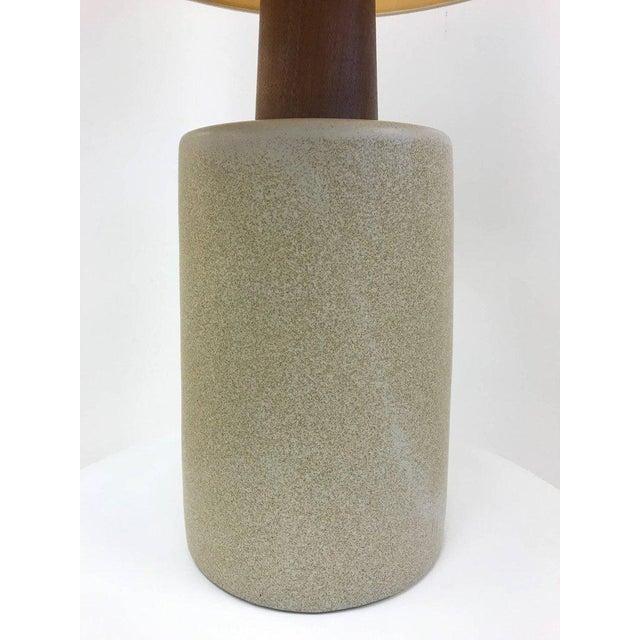Gordon Martz Gordon Martz Ceramic Lamp For Sale - Image 4 of 6