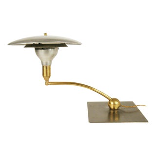 "m.g. Wheeler ""Sight Light"" Saucer Swivel Desk Lamp For Sale"