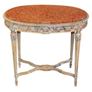 French Oval Louis XVI Table