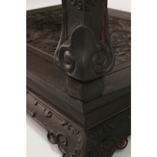 Antique Chinese Zitan Side Table For Sale - Image 11 of 11