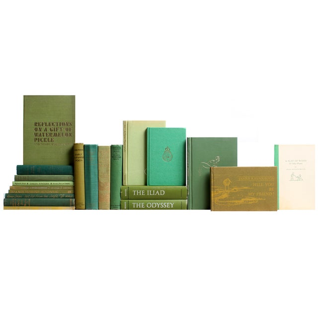 Green Poetry Books - S/20 - Image 1 of 2
