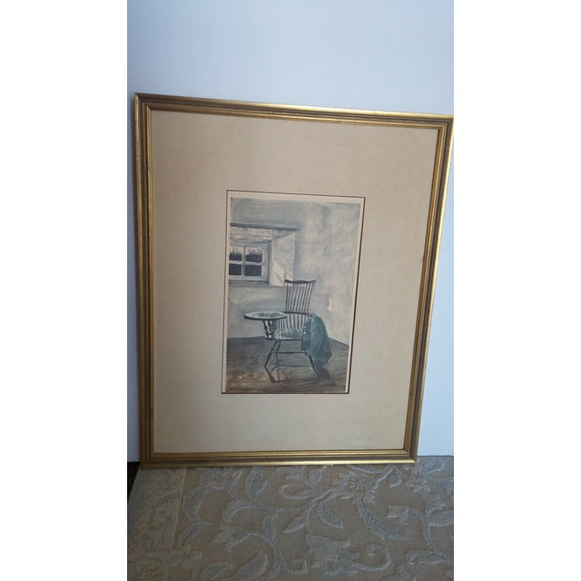 "1961 Andrew Wyeth ""Early October"" Drawing For Sale - Image 7 of 8"