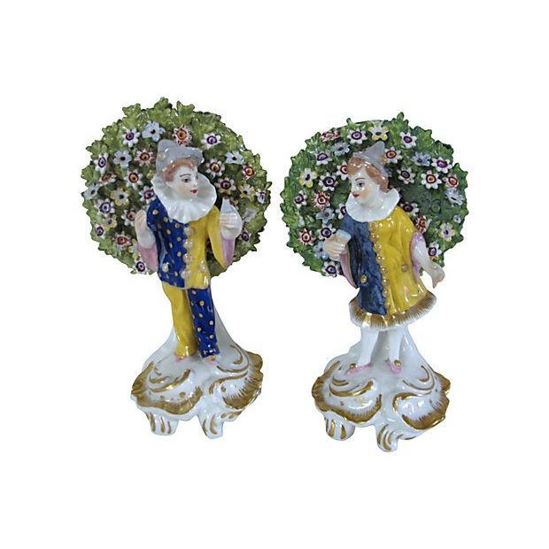 Antique English Derby Figures C. 1840 - Image 1 of 6