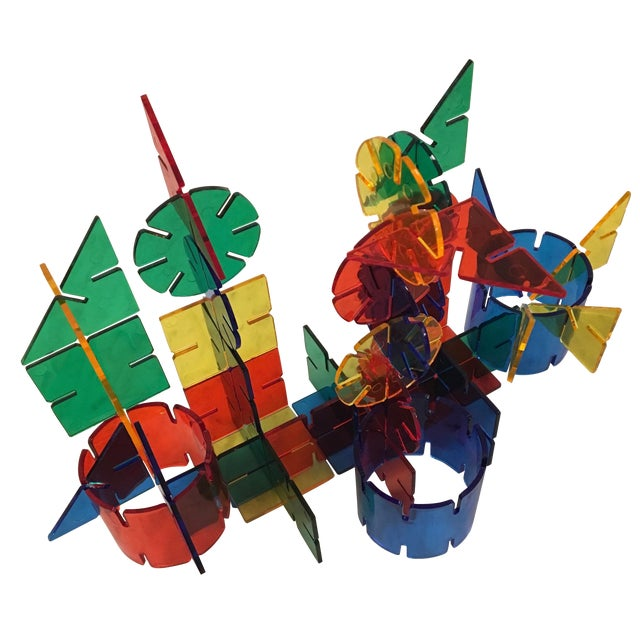 1960s Colorful Crystal Toy - Image 1 of 5
