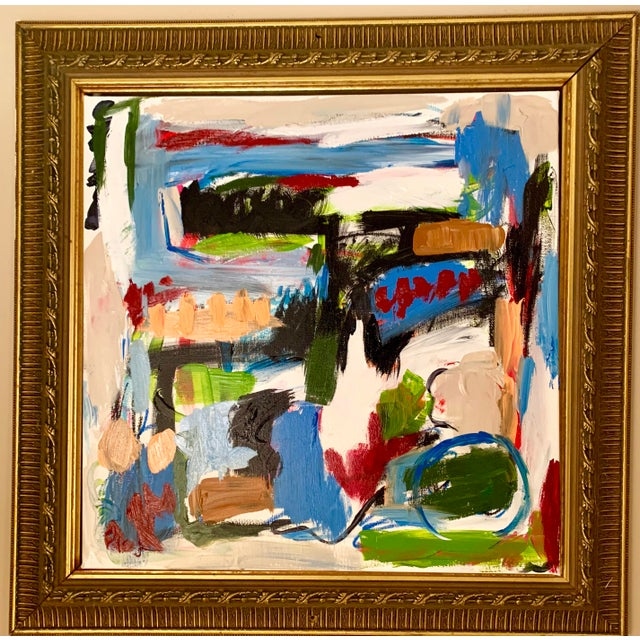Ebony Boyd Abstract Painting For Sale - Image 4 of 5
