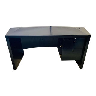 Pace Collection Ebonized Oak Desk, Part of a Collection for an Office For Sale