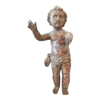 18th Century Italian Wood Cherub