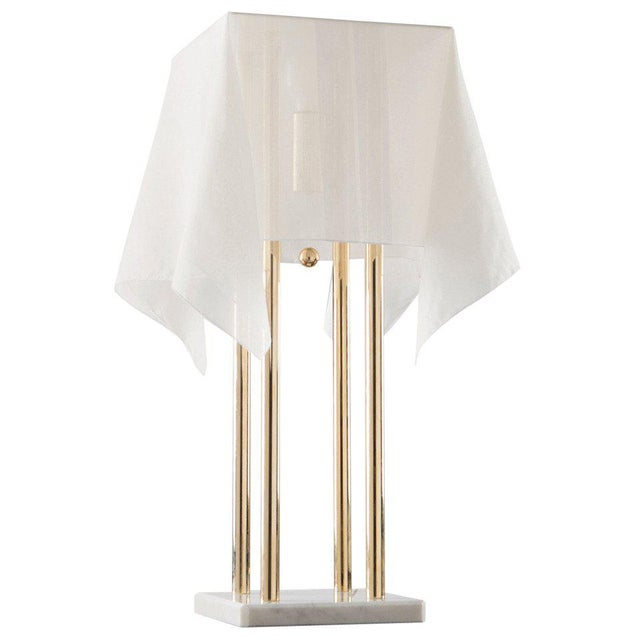 """""""Nefer"""" Table Lamp by Kazuide Takahama for Sirrah For Sale - Image 10 of 10"""
