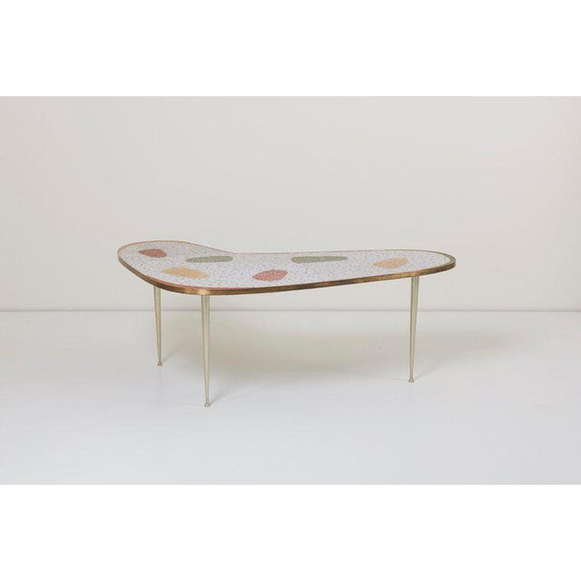 Berthold Muller Vintage Boomerang Coffee Table by Berthold Müller For Sale - Image 4 of 11