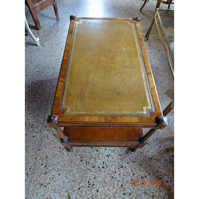 1940s Vintage French Coffee Table For Sale - Image 5 of 11