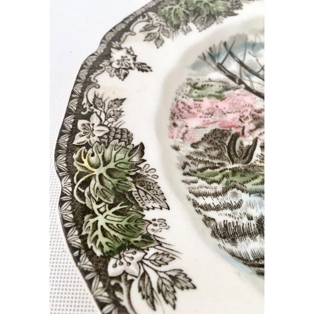 """1950's Johnson Brothers English """"Friendly Village"""" Dinnerware - Set of 17 For Sale - Image 10 of 13"""