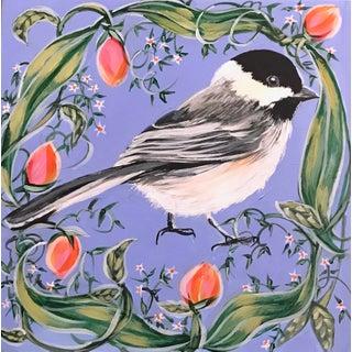 """Chickadee"" Original Artwork by Naomi Jones For Sale"