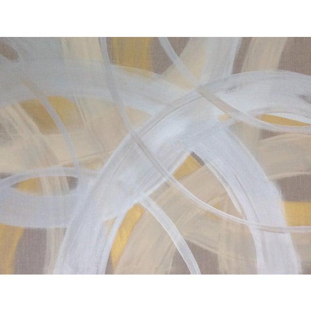 'CELESTiNE' original abstract painting by Linnea Heide - Image 7 of 8