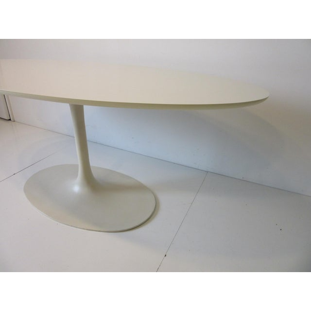 Burke Burke Tulip Desk / Dining Table for Burke International For Sale - Image 4 of 11