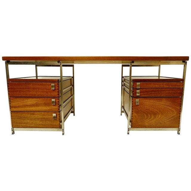 Desk by Jules Wabbes for Foncolin, Belgium, 1957 For Sale - Image 13 of 13