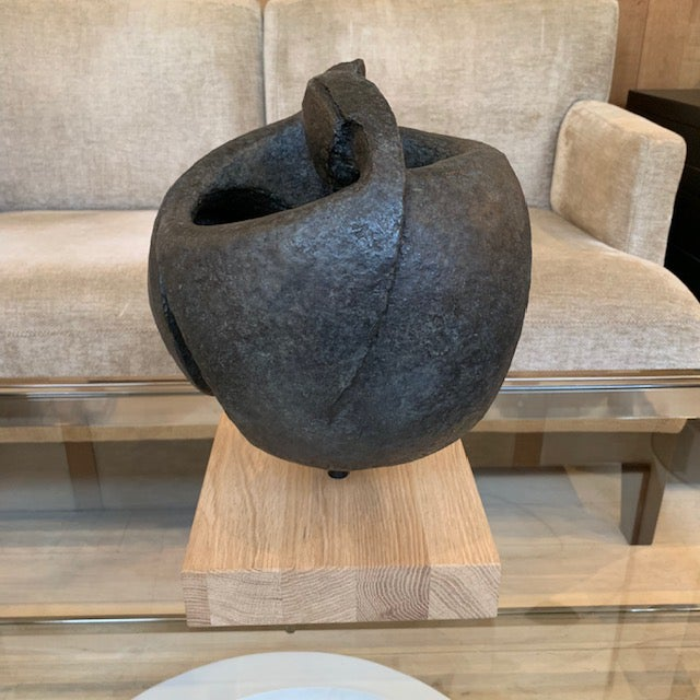 "Contemporary ""In Perpetuum"" Bronze Sculpture by Guy Busenye For Sale - Image 3 of 6"